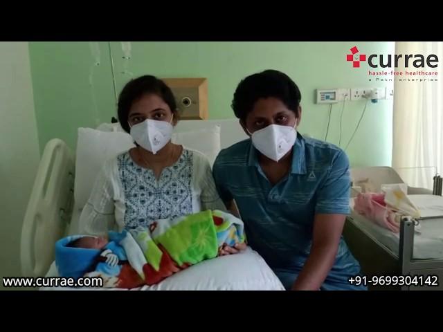 Pt. Piyali Banerjee   Birthing   Dr. Sujata Rathod   Currae Hospitals