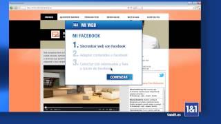 Crea tu página web con 1&1 Mi Web