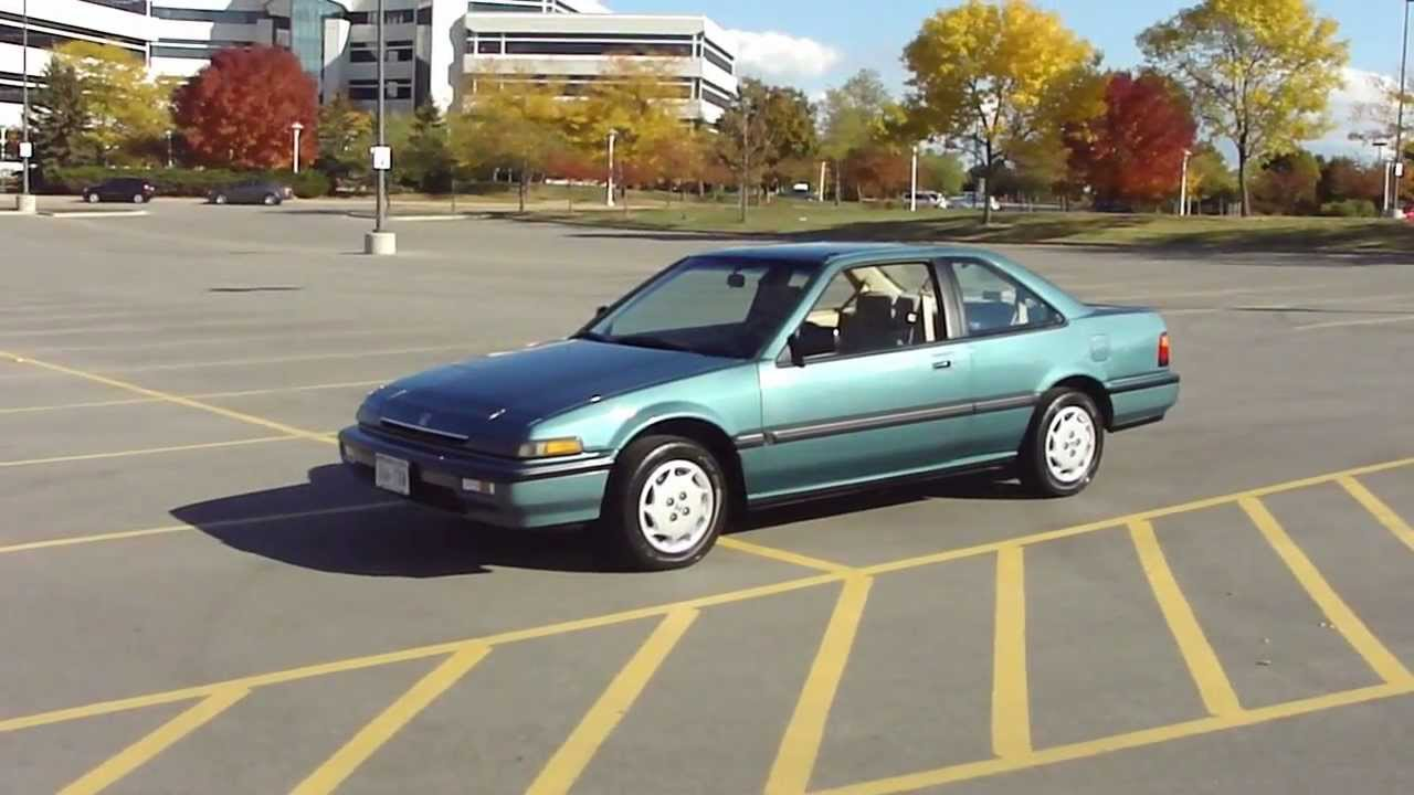 1989 honda accord lxi coupe youtube. Black Bedroom Furniture Sets. Home Design Ideas