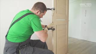 Самостоятельный ремонт квартиры своими руками ч. 5. Облицовка плиткой и установка двери (финал)
