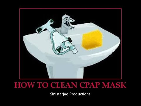 HOW TO CLEAN CPAP MASK