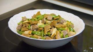 小炒 - 豆乾蘿蔔四季豆(都會客家菜)