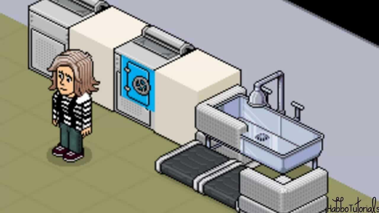 Decohouse 1 ideas de decoraci n para habbo holos for Casa moderna de habbo
