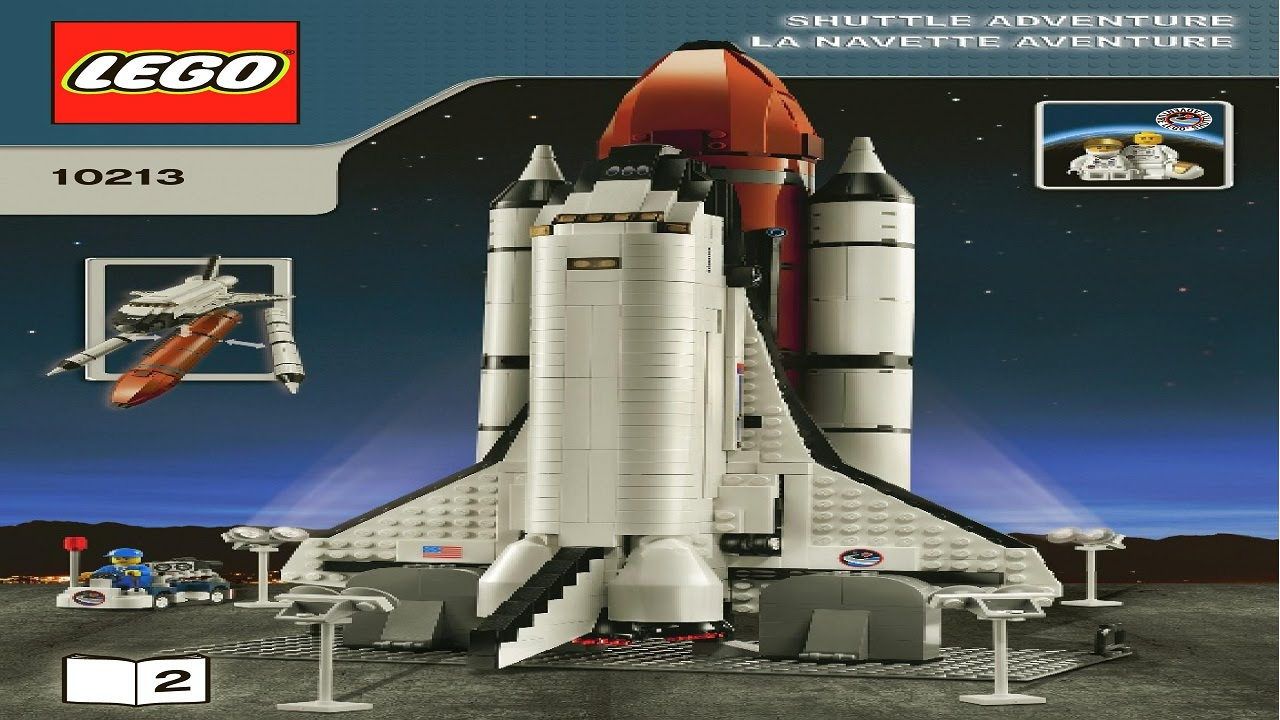 lego space shuttle 10213 review - photo #18