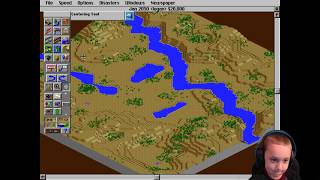 BUILDING A CITY (AGAIN AND AGAIN) - SimCity 2000 Gameplay