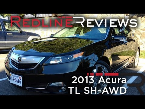 2013 Acura Tl Sh Awd Review Walkaround Exhaust Test Drive