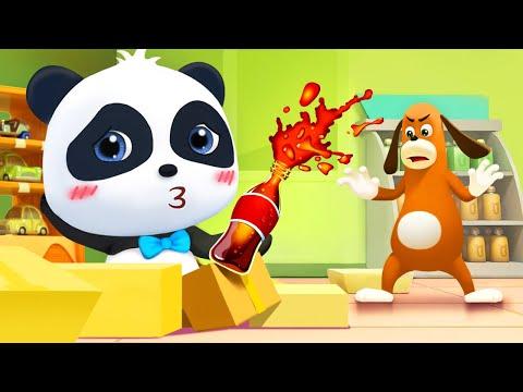 Baby Panda Wanna Cola | Magical Chinese Characters | Kids Cartoon | Baby Cartoon | BabyBus