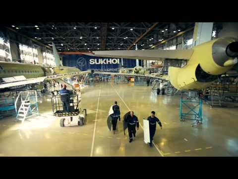SSJ100 Production Video
