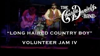 The Charlie Daniels Band - Long Haired Country Boy (Live) - Volunteer Jam IV