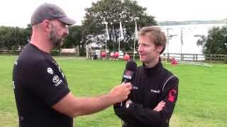 International C-Class Catamaran Championship 2013: Benjamin Muyl Interview
