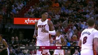 San Antonio Spurs vs Miami Heat | November 7, 2018