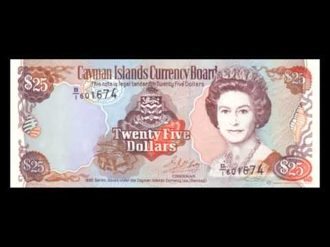 All Cayman Islands Dollar Banknotes - 1996 Issue