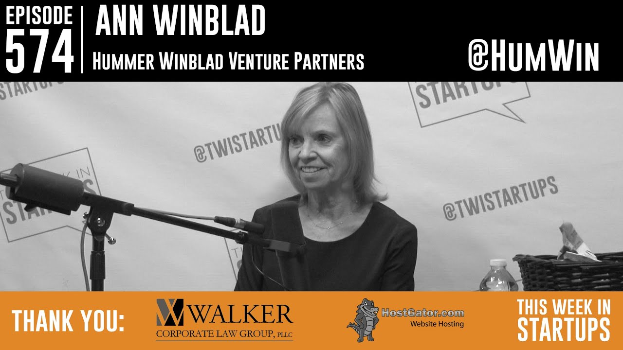 Investing legend Ann Winblad on funding software unicorns, finding talent & auditioning the future