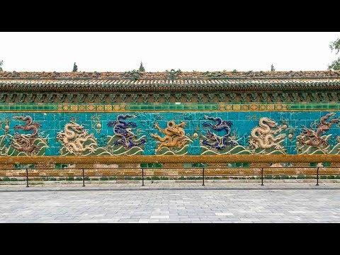 故宫九龙壁中的秘密,历代皇帝都没发现,200年后才被揭开