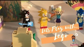 Ivy Loves...Playing with Lego | Play Along Sonic Aladdin Frozen Lego