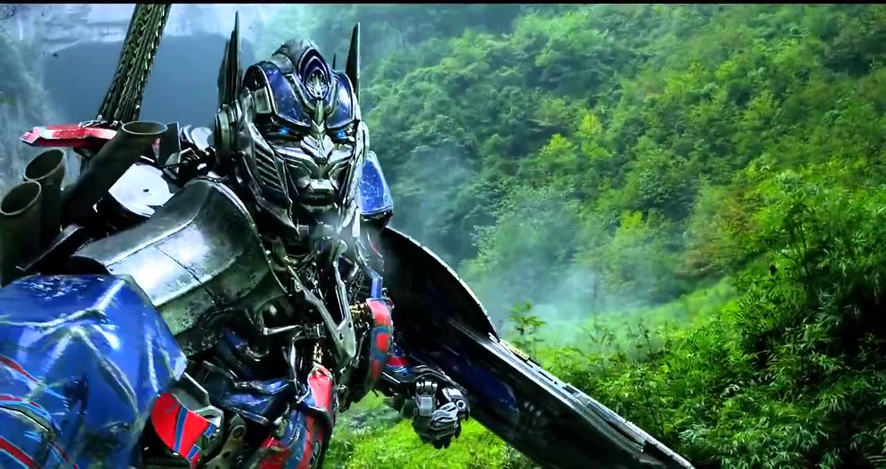 Download Transformers  Age of Extinction   Optimus Prime Speech The Battle Begins Dinobots