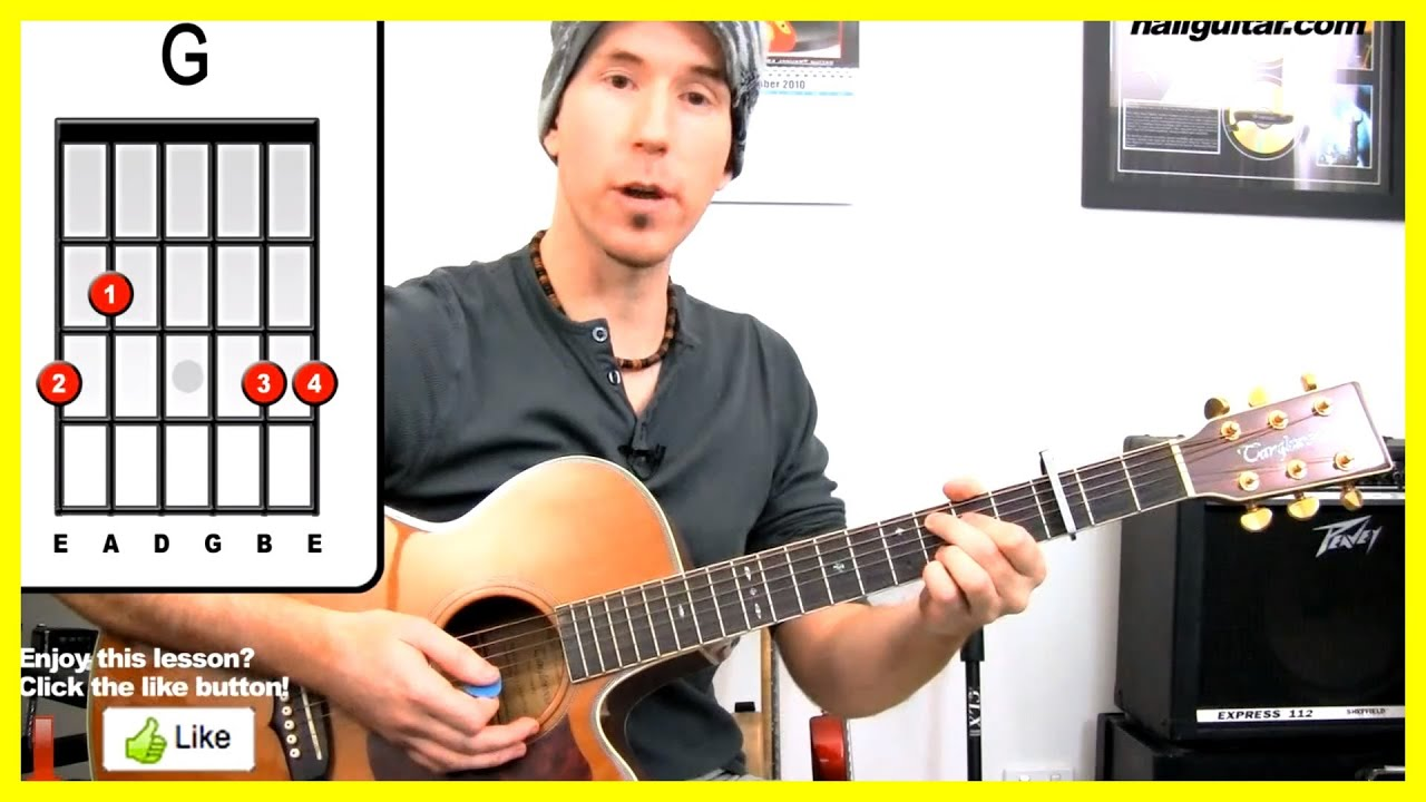 Justin Bieber As Long As You Love Me Guitar Lesson How To Play