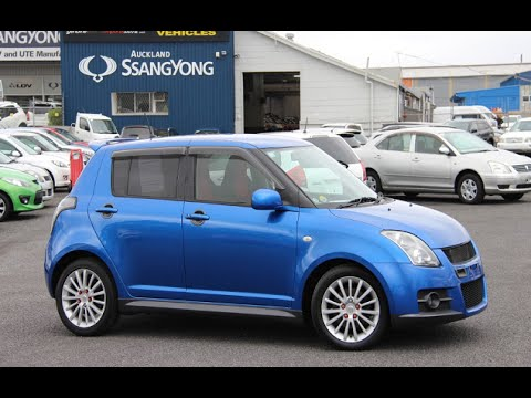 2007 suzuki swift sport v spec 5 door 1600cc vvti petrol. Black Bedroom Furniture Sets. Home Design Ideas