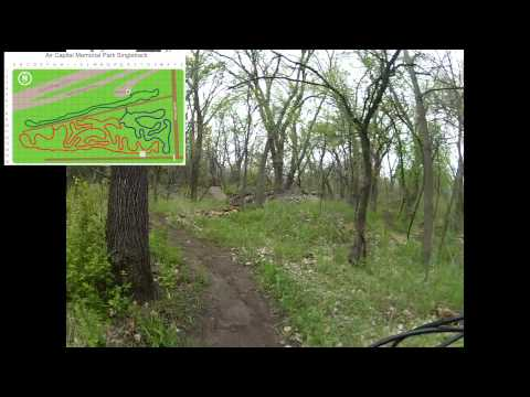 Air Capital Memorial Park Singletrack with Map
