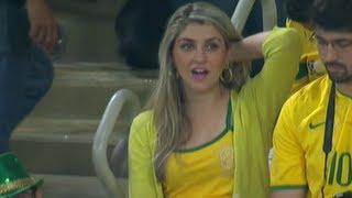 أجمل مشجعة برازيلية في كأس القارات 2013