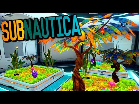 Subnautica - PLANTER, GROWBED, FRUIT FARMING, EGG HATCHING #5 (Subnautica Survival Gameplay)