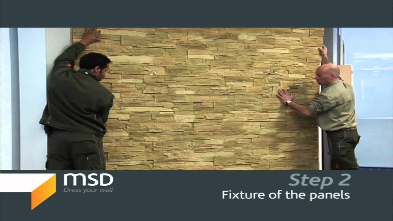 Stone Walls, Exterior And Interior Stone Designs (Step 2 Of 5)   YouTube