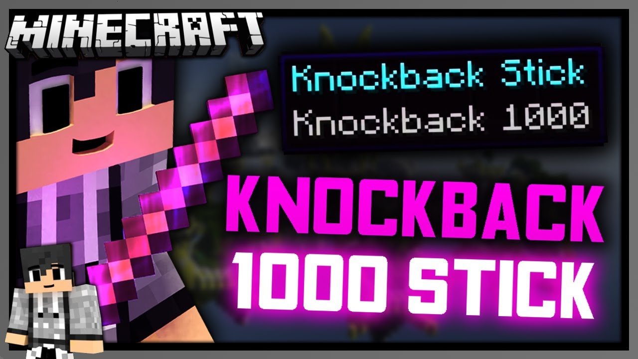 How to Get a Knockback 1222 Stick in Minecraft (122.1225/122.1226) [Vanilla Command  Block Tutorial]