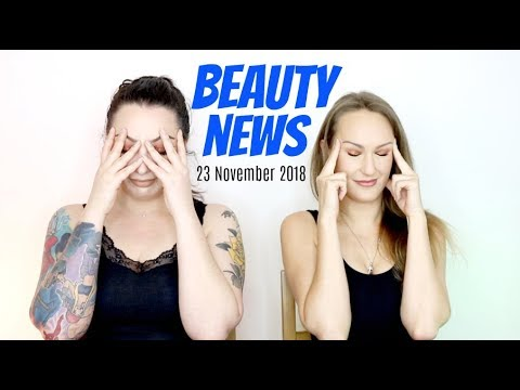 BEAUTY NEWS – 23 November 2018 | New Releases & Updates