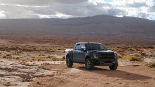 2019 F-150 Raptor takes on Hole in the Rock Road
