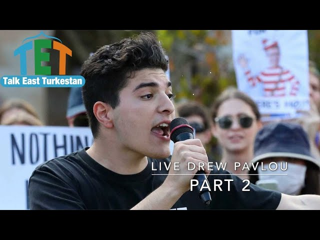 Live: Catching Up With Human Rights Activist Drew Pavlou.