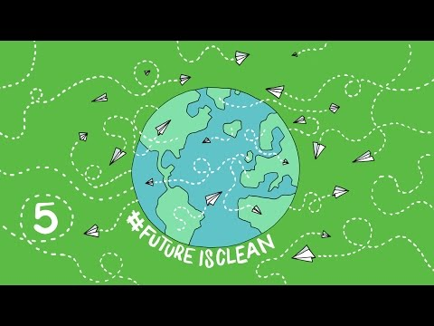 #futureisclean - A Paper Plane Going #RTW Episode 5 - Solar Impulse Airplane
