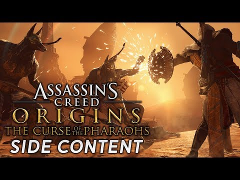 Assassin's Creed Origins: The Curse of the Pharaohs | Side Content/Exploration [Live Archive]