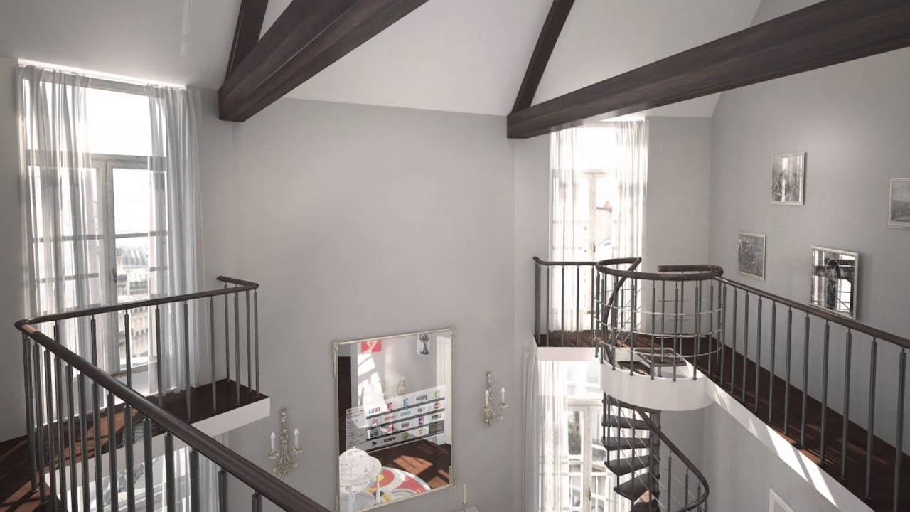 appartement haussmannien paris youtube. Black Bedroom Furniture Sets. Home Design Ideas