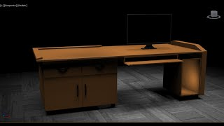 How to model Table in 3DS Max 2015