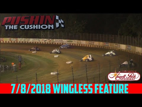 Angell Park Speedway - 7/8/2018 - Wingless Sprints - Feature