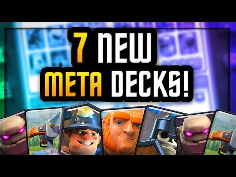 7 DECKS That Will DESTROY NEW META in Clash Royale