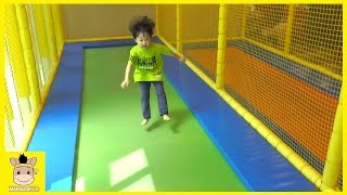 Indoor Playground Kids and Family Fun Play Jump Cocomong Kids Cafe Pororo | MariAndKids Toys