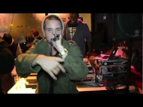 Kevin Getzen- Rigamortis by Kendrick Lamar at My Radio Hip Hop Karaoke Contest in Milwaukee, WI