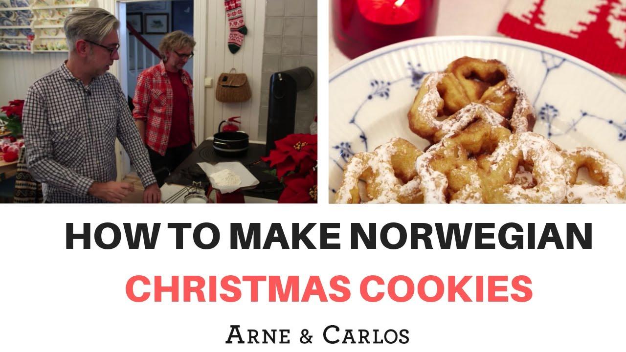 How To Make Norwegian Christmas Cookies By Arne Carlos
