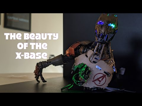 X-Base Wireless Power Station Happinet Display Figure Base Unboxing Review