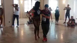 Ronald e Tatxy - Demo Kizomba By Jennifer Dias, I need you so