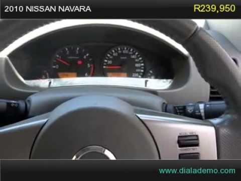 2010 NISSAN NAVARA