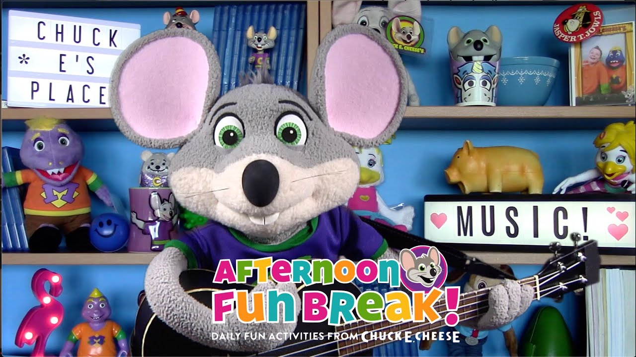 Making Music with Chuck E. | Afternoon Fun Break