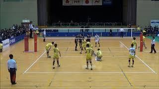 男子優勝決定戦  鎮西高校 対 東福岡
