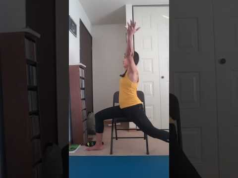 Yoga Story Presents: Short Chair Sequence of the Week