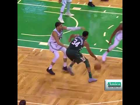 A superstar duel in Boston as Kyrie Irving puts up 32 points while Giannis An