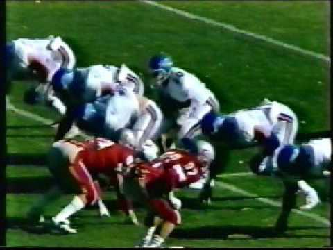 Univ of Tulsa vs Univ of New Mexico Football 11/8/1986