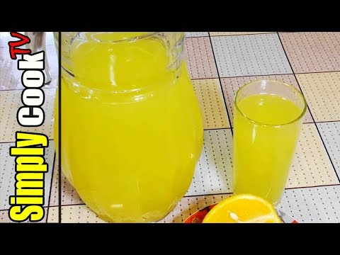 Освежающий Апельсиновый сок 5л из 4 апельсинов   ПРОСТОЙ РЕЦЕПТ  АПЕЛЬСИНОВЫЙ ФРЕШ от Simply Cook TV