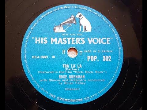 Rose Brennan  'Tra La La' 1957 78 rpm