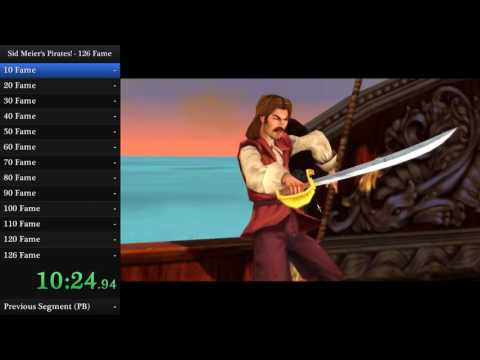"Sid Meier's Pirates! (PC) - ""126 Fame"" in 3:57:14"